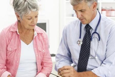 обсуждение болезни со специалистом
