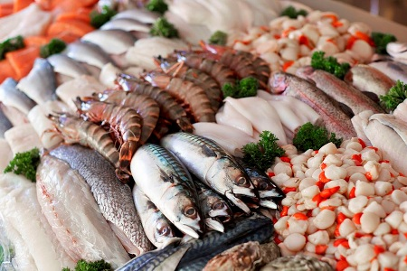 рыба и другие морепродукты