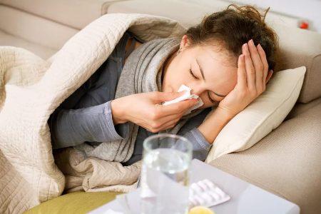 молодая мама сильно заболела